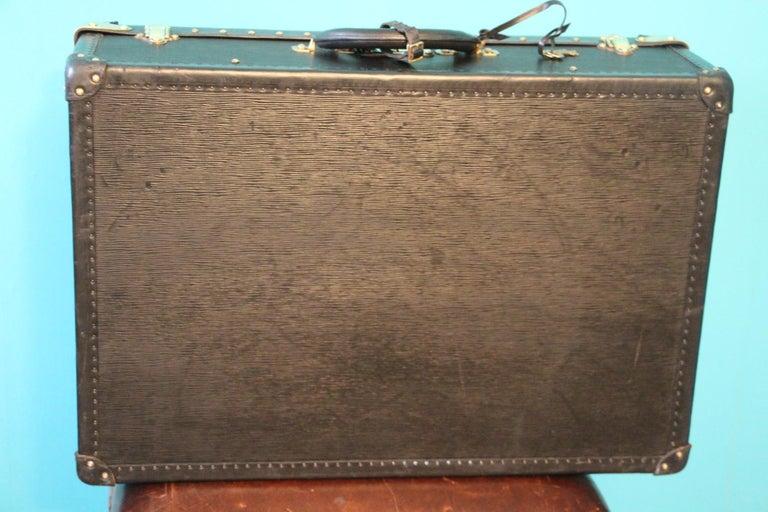 Brass Black Louis Vuitton Alzer 65 Suitcase Louis Vuitton Suitcase Louis Vuitton Trunk For Sale