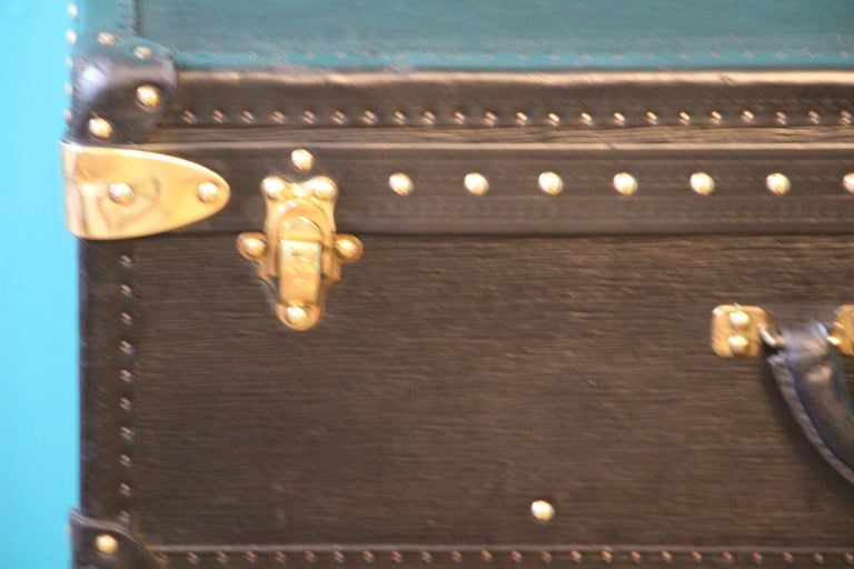 French Black Louis Vuitton Alzer 70 Suitcase Louis Vuitton Suitcase Louis Vuitton Trunk For Sale