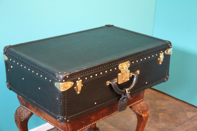 Brass Black Louis Vuitton Alzer 70 Suitcase Louis Vuitton Suitcase Louis Vuitton Trunk For Sale