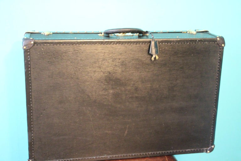 Black Louis Vuitton Alzer 80 Suitcase Louis Vuitton Suitcase Louis Vuitton Trunk For Sale 4