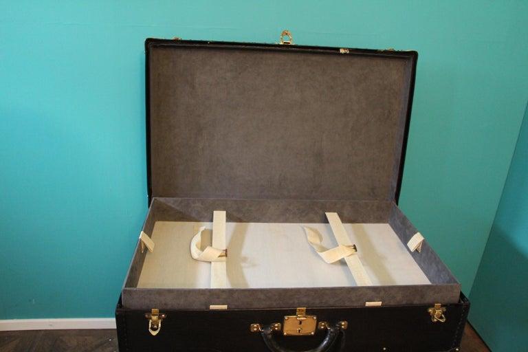Black Louis Vuitton Alzer 80 Suitcase Louis Vuitton Suitcase Louis Vuitton Trunk For Sale 8