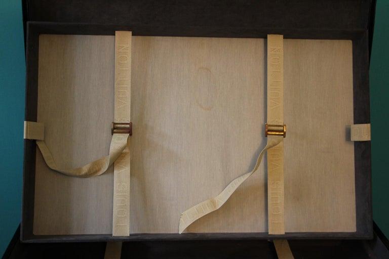 Black Louis Vuitton Alzer 80 Suitcase Louis Vuitton Suitcase Louis Vuitton Trunk For Sale 12