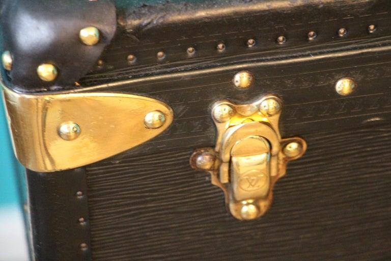 Black Louis Vuitton Alzer 80 Suitcase Louis Vuitton Suitcase Louis Vuitton Trunk In Good Condition For Sale In Saint-Ouen, FR
