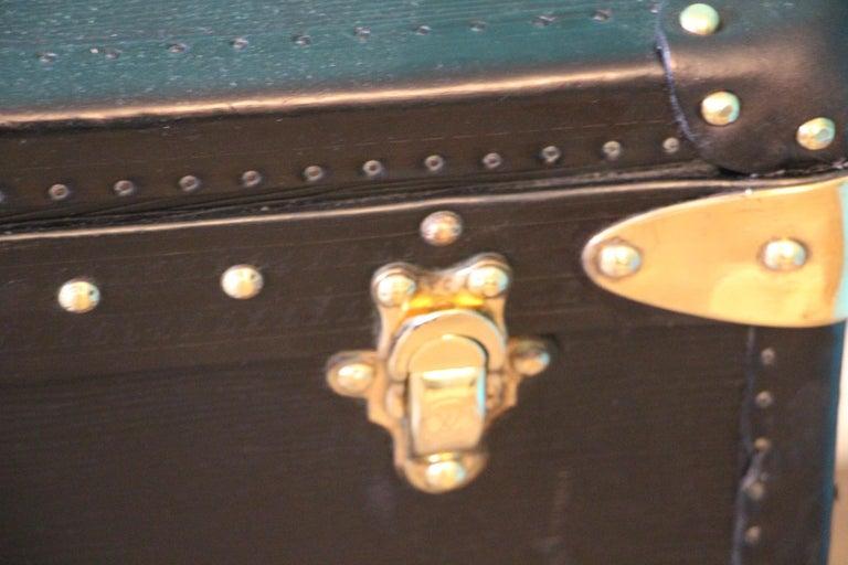 Late 20th Century Black Louis Vuitton Alzer 80 Suitcase Louis Vuitton Suitcase Louis Vuitton Trunk For Sale