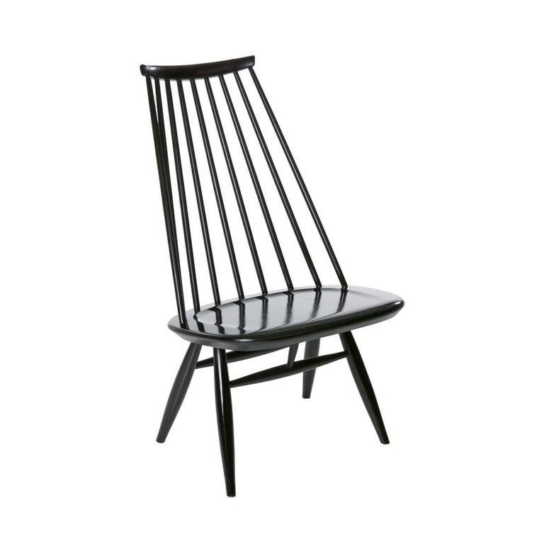 Artek Black Mademoiselle Lounge Chair For Sale