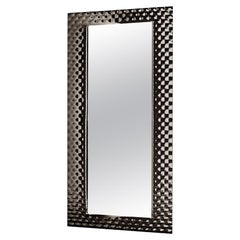 Black Manor Rectangular Mirror