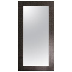 Black Maple Wood Large Standing Mirror from Costantini, In Stock