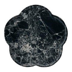 Black Marble Ariadne Coasters by Faye Tsakalides