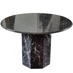 Black Marble Dining or Centre Table