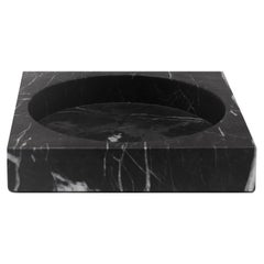 Black Marble Low Cube