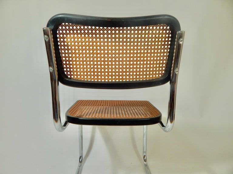 Black Marcel Breuer Cesca Chair For Sale At 1stdibs
