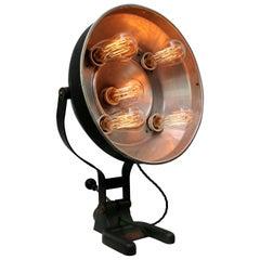 Black Metal Vintage Industrial Medical Desk Table Lamp