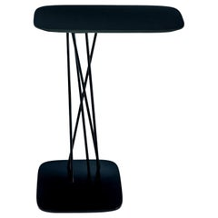 Black Mika Side Table by Michael Schmidt, Made in Italy