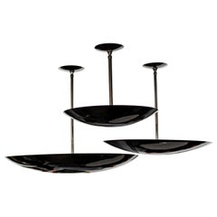 Black Nickel Dome Ceiling Pendant