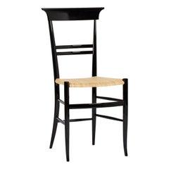 Black Novecento Chair by La Sedia Di Chiavari