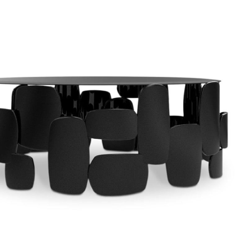 Black Pebb Coffee Table In New Condition For Sale In Paris, FR