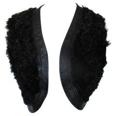Black Persian Lamb Fur Bolero
