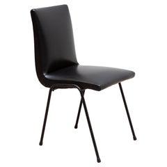 Black Pierre Guariche Chair 1960s for Meurop