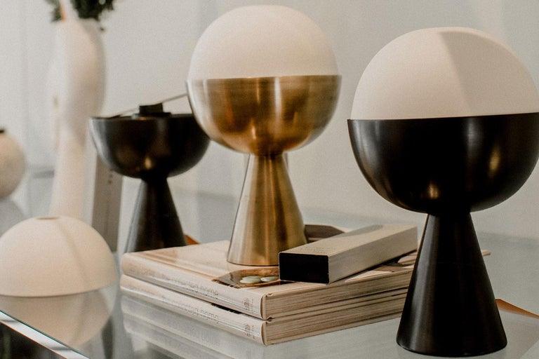 Modern Black Porcelain Incense Burner Candleholder For Sale