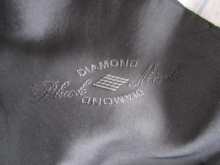 Black Ranch Mink Full Swing Coat 12-14  Retail 8,000+ Authentic Black Diamond For Sale 8