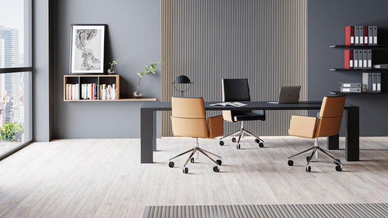 Black Rectangular Dining or Conference Table by De Sede For Sale 3