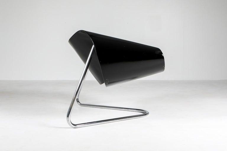 Mid-Century Modern Black Ribbon Chair by Franca Stagi for Bernini, 1961 For Sale