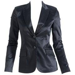 Black Satin Blazers for Woman by Richmond