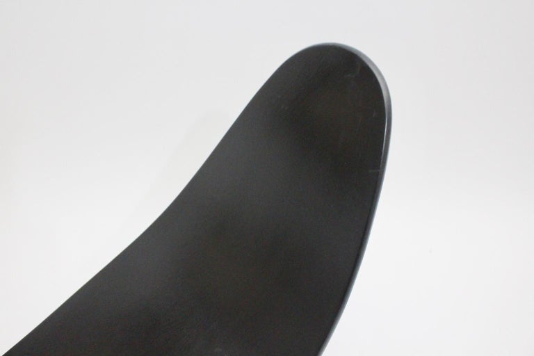 Black Scandinavian Modern Rocking Chair Chip by Teppo Asikainen Ikka Terho, 1995 For Sale 3