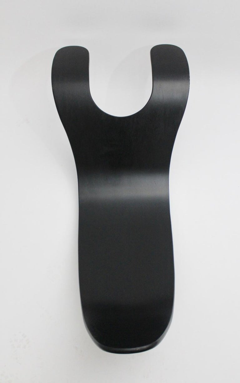 Black Scandinavian Modern Rocking Chair Chip by Teppo Asikainen Ikka Terho, 1995 For Sale 5