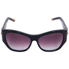 Shamballa Black Big Love Square Sunglasses