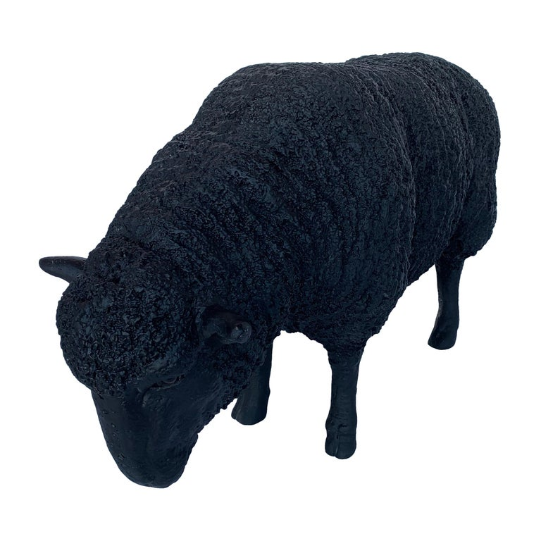 Black Sheep Sculpture For Sale