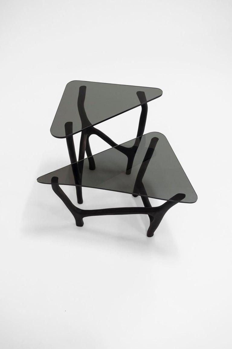 Modern Black Side Tables by Robin Berrewaerts