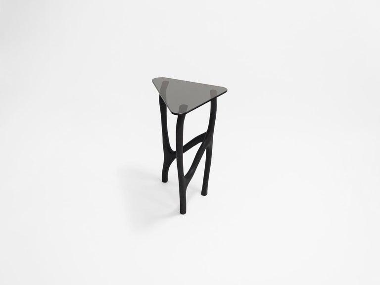 Belgian Black Side Tables by Robin Berrewaerts
