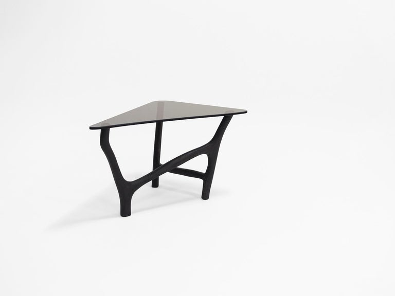 Black Side Tables by Robin Berrewaerts In New Condition In Geneve, CH