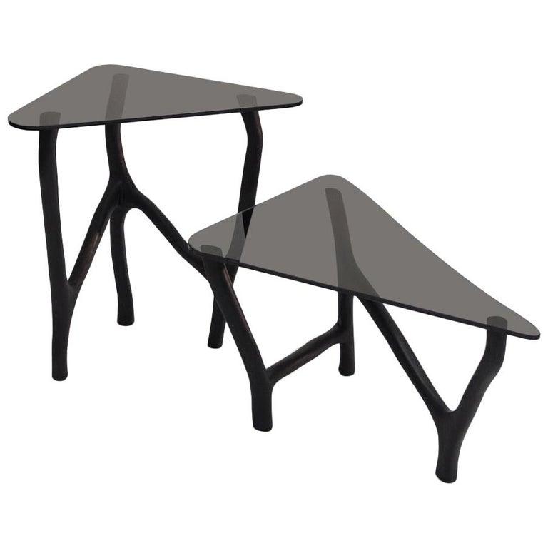 Black Side Tables by Robin Berrewaerts