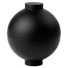 Black Sphere Large by Kristina Dam Studio