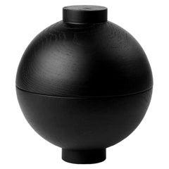 Black Sphere XL by Kristina Dam Studio