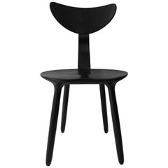 Black Stained Ash Daiku Chair by Victoria Magniant