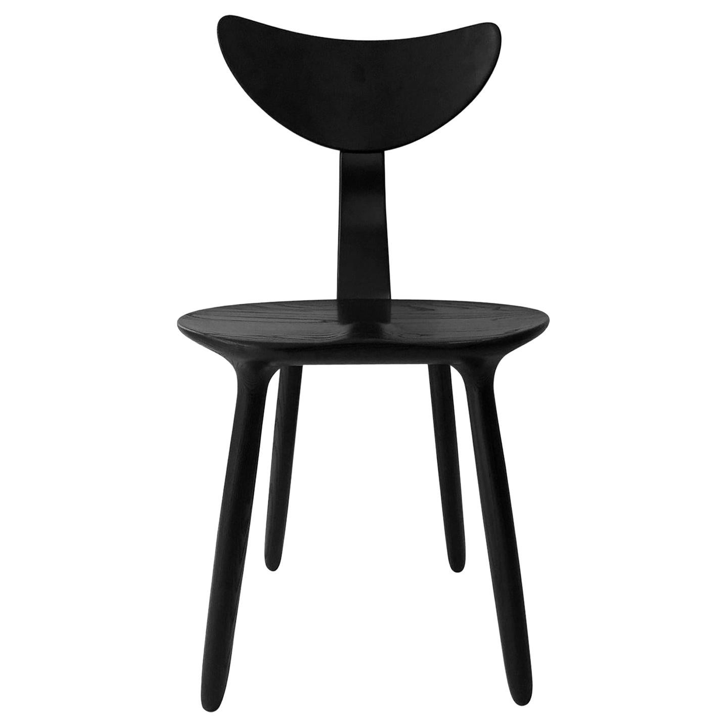 Black Stained Ash Daiku Chair by Victoria Magniant, Galerie V