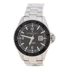 Black Stainless Steel Nauticus Austro Limited Edition Men's Wristwatch 45 mm