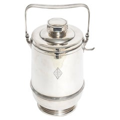 Black Starr & Frost Sterling Silver Ice Bucket
