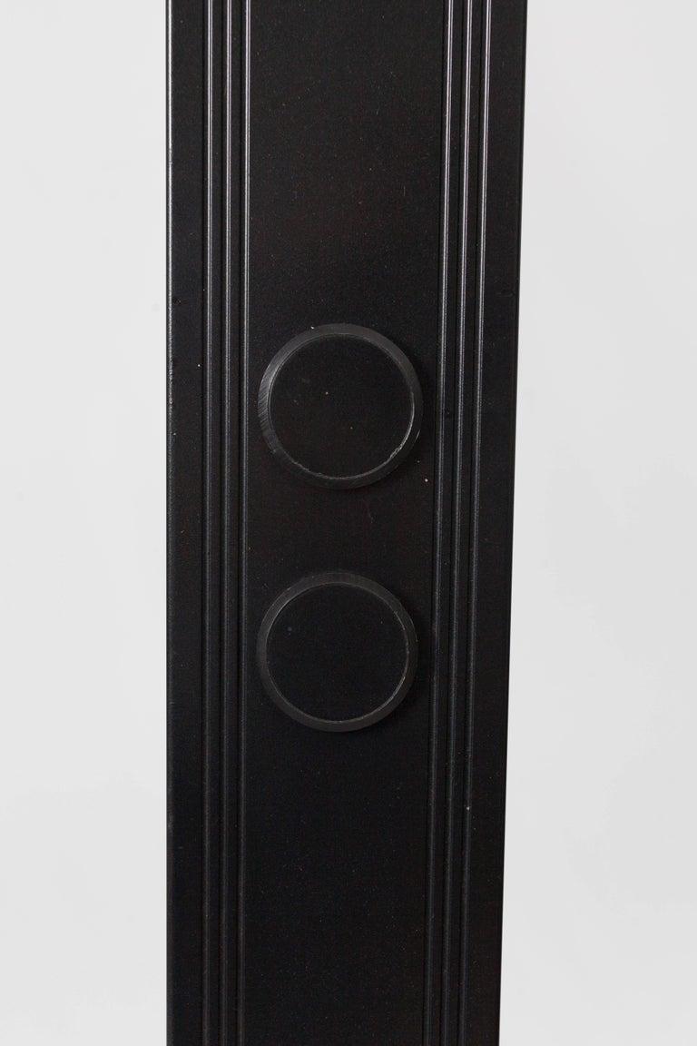 Black Steel Floor Lamp Marked