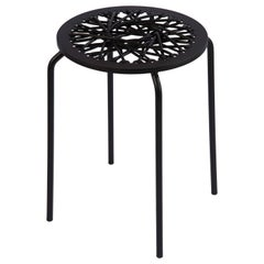 Black Stretch Stool