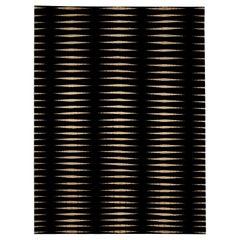 Black Stripe Skyline Rug