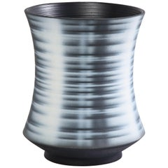 Black Striped Vessel, 'wide'