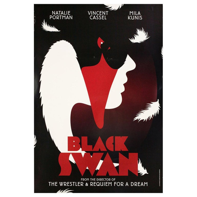 """Black Swan"" 2010 British One Sheet Film Poster For Sale"