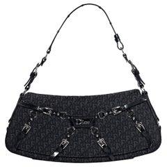 Black Tiffany & Co. Embossed Leather Belt