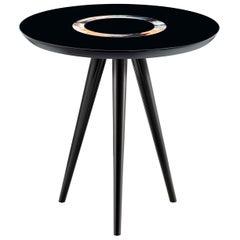 Black Tripod Side Table