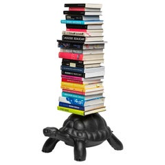 Black Turtle Bookcase, Designed by Marcantonio, Made in Italy