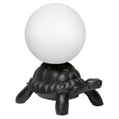 Black Turtle Carry Lamp, Designed by Marcantonio